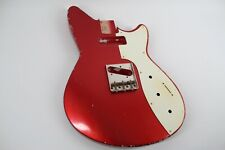 MJT Official Custom Vintage Age Nitro Guitar By Body Mark Jenny Lydia  Apple Red