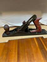 "Vintage Este No. 5 Jack Plane German Wooden handle knob  Rare 13.5"" Long (A041)"