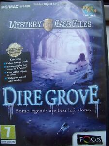 DIRE GROVE---COLLECTOR'S EDITION---BONUS GAMEPLAY---HIDDEN OBJECT---PC/MAC DVD