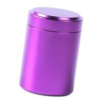 Kaffeedose Aluminium Kaffeebehälter, Rund Vorratsdose für Reise Outdoor