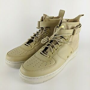 NIKE Mens Special Field SF Air Force 1 Mid Boot 917753 200 Mushroom Size 12 NEW