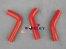 Red silicone radiator hose for YAMAHA RD250 RD350 LC 4L0 4L1