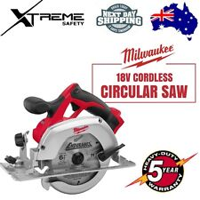 "Milwaukee 18v Cordless 165mm ( 6 1/2"" ) Circular Saw - SKIN ONLY"