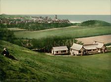 Cromer. Golf Club House. PZ vintage photochromie, photochrom photochromie, vin