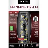 Andis Nation SlimLine Pro Li Cordless T-Blade Hair Trimmer Limited Ed 32680 D-8