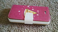 Iphone 4 Case Bookcase Wallet Case Cover Iphone4 Filp Cover + Screen Protector