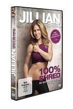 JILLIAN MICHAELS - JILLIAN MICHAELS-100%SHRED:SO SCHLANK WIE NIE   DVD NEU