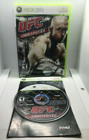 UFC 2009 Undisputed - Complete - Tested & Works - Excellent Cond. - Xbox 360