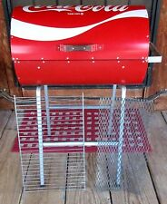 "Vintage Coca Cola BBQ Barbecue Grill Coke Can Full Size Charcoal Metal 34"" T"