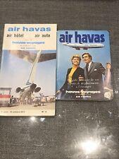 TIMETABLE HORAIRES DE POCHE AIR HAVAS Air France 1971/1972