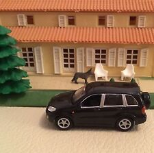 REAL-X 1:72 Black Toyota RAV4 1/72 Scale