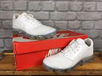 NIKE AIR VAPORMAX WHITE TRAINERS VARIOUS SIZES CHILDRENS, LADIES RRP £150