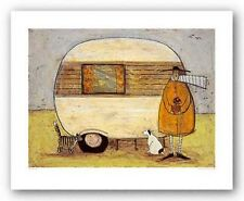 CAT ART PRINT Home From Home Sam Toft
