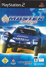 MASTER RALLY for Playstation 2 PS2 - with box & manual - PAL