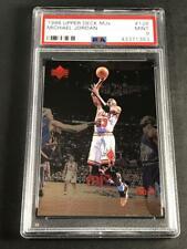 MICHAEL JORDAN 1998 UPPER DECK MJX #125 4TH QUARTER FOIL CARD MINT PSA 9 NBA MJ