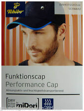 TCM Tchibo Herren Funktionskappe Kappe Cap Mütze schwarz Einheitsgröße