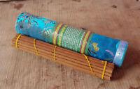 Himalayan Juniper Tibetan Incense packed in Brocade Tube- Handmade Incense NEPAL