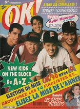 MAGAZINE OK ! NEW KIDS ON THE BLOCK SYDNEY YOUNGBLOOD SYLVESTER STALLONE