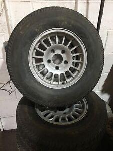 Mercedes G Wagon Alloy Wheels 5x130 Wolfrace Sprinter Vw Lt
