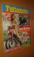 TUTTOMOTO #  2 - FEBBRAIO 1983- FANTIC 125 STRADA - BMW 4 CILINDRI- LEAN MACHINE