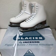 NEW Jackson Glacier GSU121 Size 3 White Youth/Junior Recreational Figure Skates