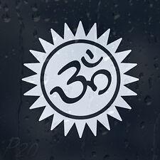 AUM OM Hindu Symbol OHM Car Or Laptop Decal Vinyl Sticker For Window Panel