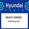 86341A9000 Hyundai Emblemgrand 86341A9000, New Genuine OEM Part