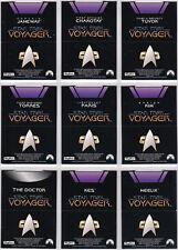 STAR TREK VOYAGER SEASON 1 SERIES 2 POP-UP INSERT SET P1-P9 BLOCKBUSTER EXCLUSVE