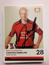 Signierte AK Carsten Ramelow Bayer Leverkusen  NEU