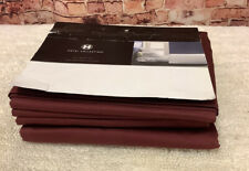 Hotel Collection 525 Thread Count 100% Egyptian Cotton Full Sheet Set - Red