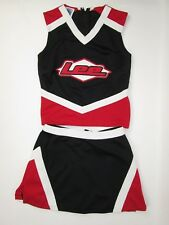 Lee High School Cheerleader Uniform Outfit Costume 32 or 38 Top 24 or 30 Skirt