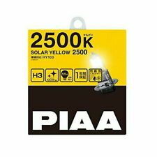 PIAA (peer) halogen bulb [solar yellow 2500K] for inspection 1 year warranty H3