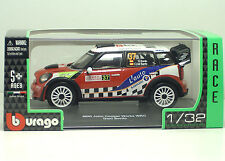 Bburago 41042 MINI John Cooper Works WRC - Dani Sordo  - Scala 1:32