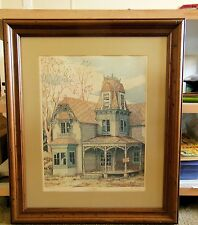 """. Sundal Signed/Numbered Print Pen/Ink Drawing Called """"Posted"""" 25/750"""