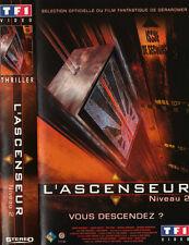 cassette VHS.  L'ASCENSEUR   niveau 2.