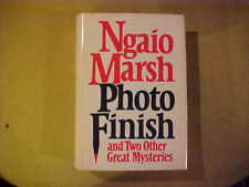 Ngaio Marsh Photo Finish & 2 Other Great Mysteries Book Novel Fiction Literature