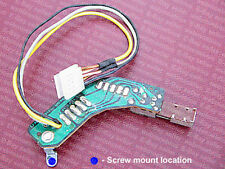 Technics SL-1300MK2 / SL-1400MK2 turntable muting switch, single screw mount