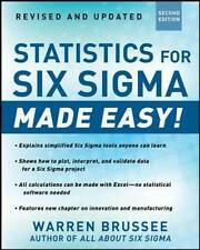 Statistics for Six Sigma Made Easy! Revised and Expanded Second Edition by...