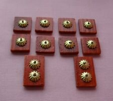 10 HANDMADE DOLLS HOUSE LIGHT SWITCHES TO COMPLETE YOUR DOLLS HOUSE