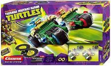 Teenage Mutant Ninja Turtles Carrera Coche Ranura Racing Track - 62196
