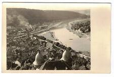 Foto Ak Wertheim am Main um 1930 Bahnhof Dampflok !