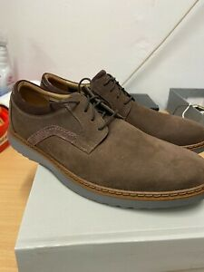 Clarks Mens NEW Un Geo Lace size 9.5 Brown