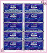 CREST3D White Luxe Professional Effects White Teeth Whitening 10pouches 20strips