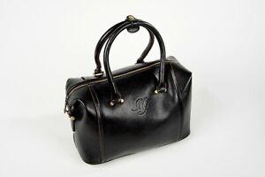 MJ Bags Damen Handtasche Designer Tasche Leder Henkeltasche Fashion black