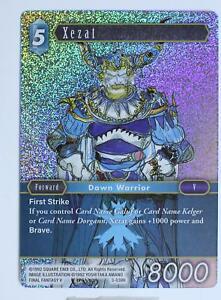 Final Fantasy TCG - Xezat - 3-038H - Opus 3 - Foil