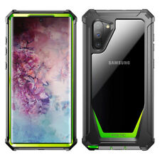 Samsung Galaxy Note 10 Case,Poetic Full-Body Hybrid Bumper Protector Cover Green