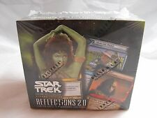 STAR TREK CCG 2E REFLECTIONS 2.0 COMPLETE SEALED BOX OF 24 BOOSTER PACKS