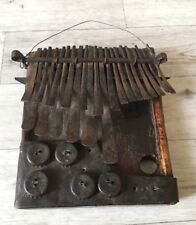 More details for lovely rare old original tribal vintage mbira (thumb piano)shona tribe