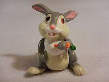 Vintage Bambi Disney Thumper with Carrot PVC / Plastic Toys
