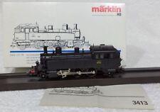 Märklin 3413 / 37413 SNCF 131 TA 3 Franse stoomlok DIGITAAL 5 polig